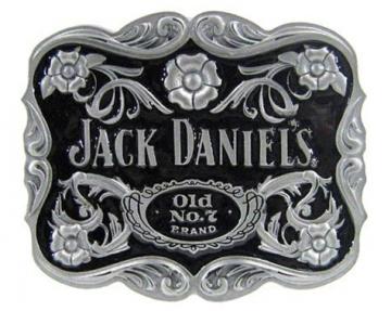 Buckles - Jack Daniels floral Buckle