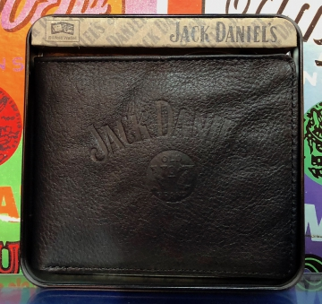 Wallets - JD Black Signature Wallet Double Fold