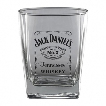 Glassware - JD Label Emblem Shotglass