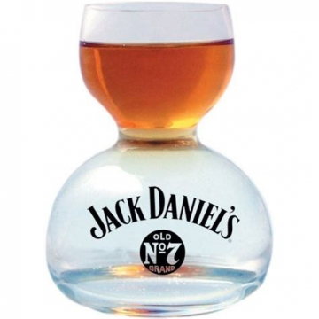 Glassware - JD whiskey on water glass