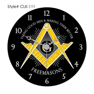 Clocks - CLK 111 Masonic Clocks