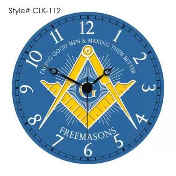 Clocks - CLK 112 Masonic Clocks