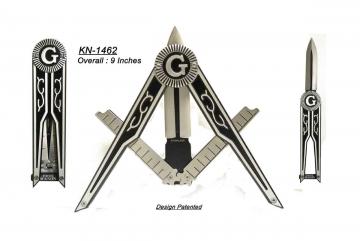 Knives - Masonic Folder Knife