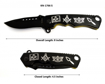 Knives - Masonic Silver Knife