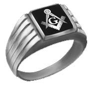 Jewellery - Mason Logo Rings (one size fits all)
