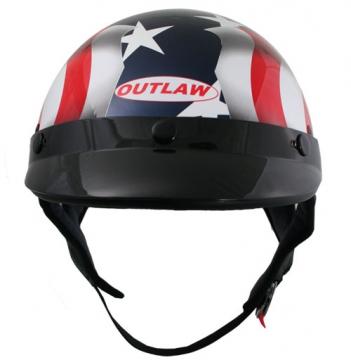 DOT Helmets - American Flag Helmet - Size S-2XL