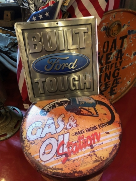 Metal Signage - Built Ford Tough Sign