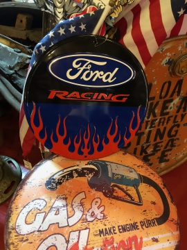 Metal Signage - Ford Racing Sign