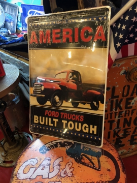 Metal Signage - America's Ford Truck Sign