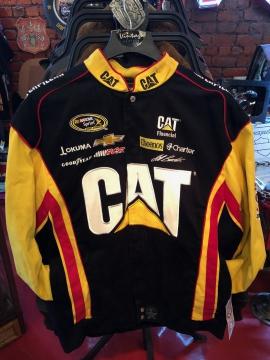 Nascar Jackets - #31 Black Cat Racing Jacket - Black - Size M-4XL