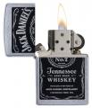 Zippos- 24779 Jack Daniels Label Zippo 2